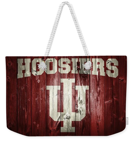 Hoosiers Barn Door Weekender Tote Bag