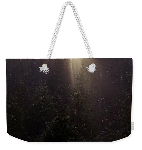 Hope And Faith - Winter Art Weekender Tote Bag