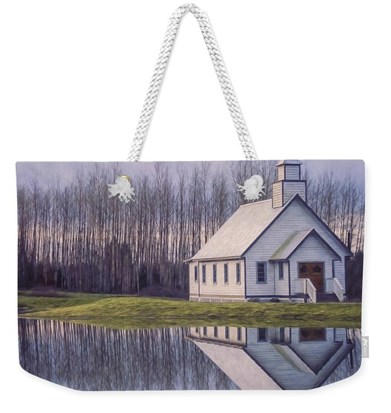 Hope Is A Thing With Feathers - Inspirational Art Weekender Tote Bag