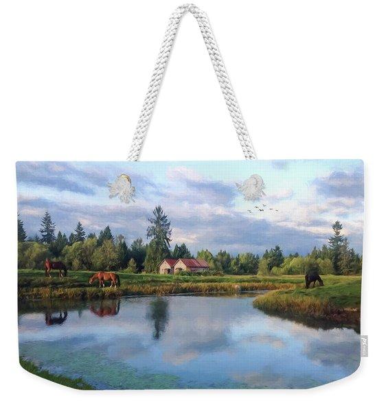 Hope Is Not A Dream - Hope Valley Art Weekender Tote Bag