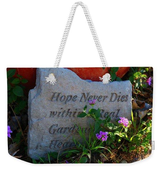 Hope Never Dies Weekender Tote Bag