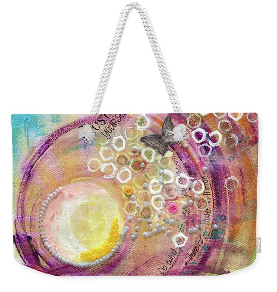 Hope Rising Weekender Tote Bag