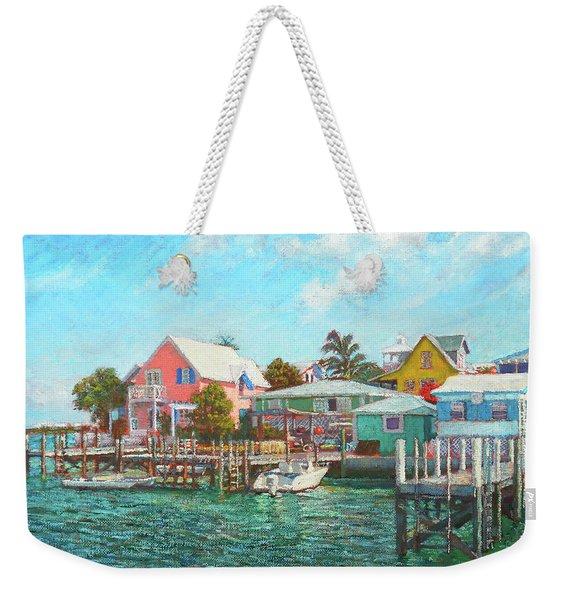 Hope Town By The Sea Weekender Tote Bag