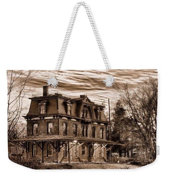 Hopewell Station Weekender Tote Bag