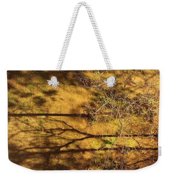 Horizontal Shadows Weekender Tote Bag