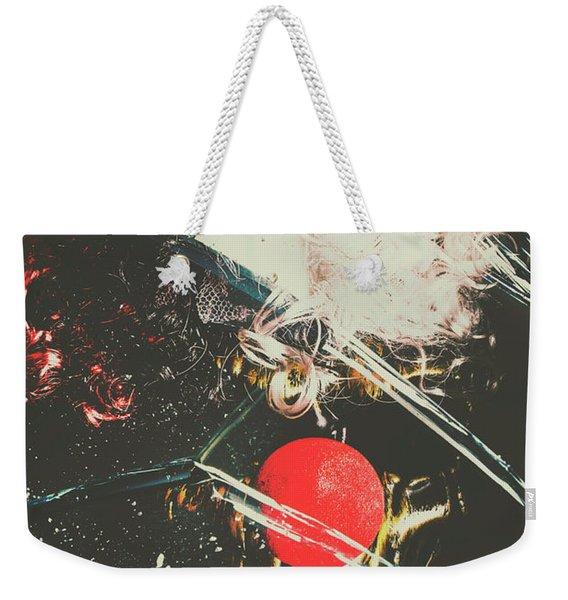 Horror House Of Mirror Weekender Tote Bag