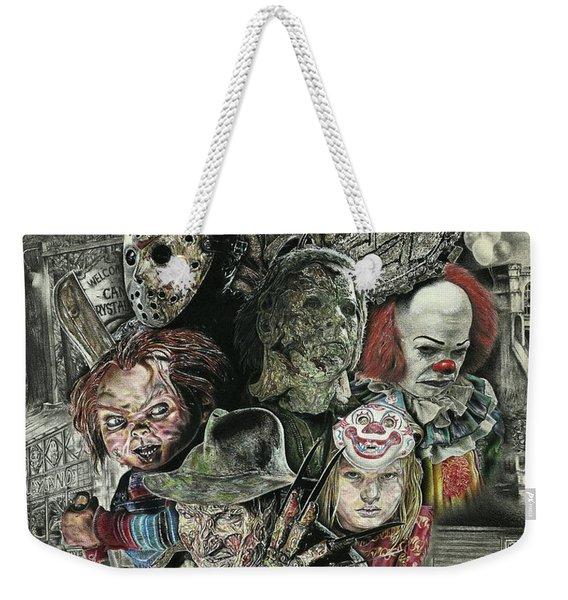 Horror Movie Murderers Weekender Tote Bag