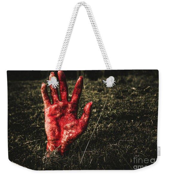 Horror Resurrection Weekender Tote Bag