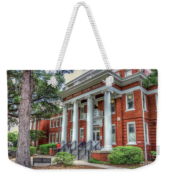 Horry County Court House Weekender Tote Bag