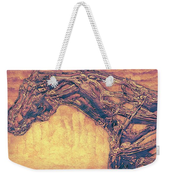 Horse Abstract Weekender Tote Bag