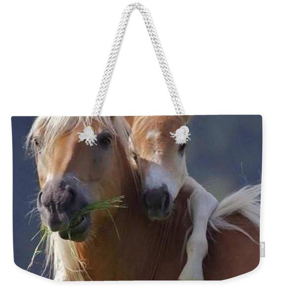 Horse And Pony Weekender Tote Bag