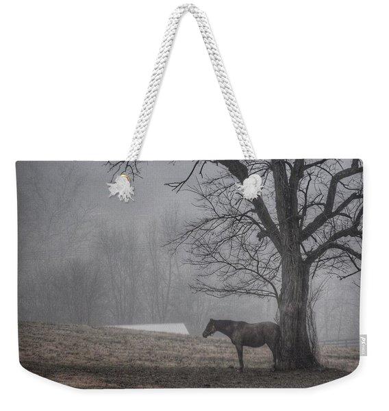 Horse And Tree Weekender Tote Bag