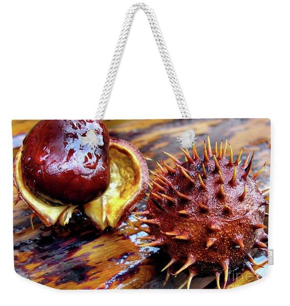 Horse Chestnut Aesculus Weekender Tote Bag