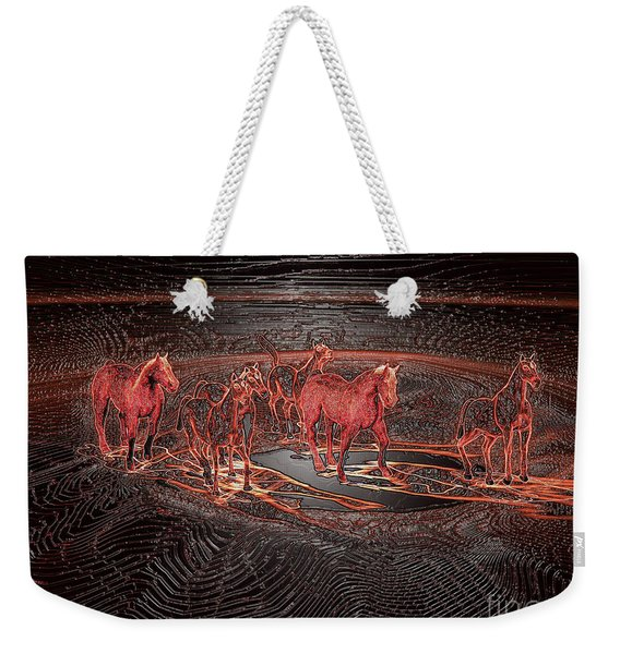 Horse Chestnut Pass Weekender Tote Bag