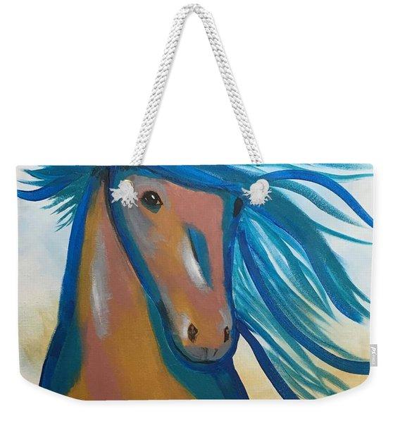 Horse Freedom Weekender Tote Bag