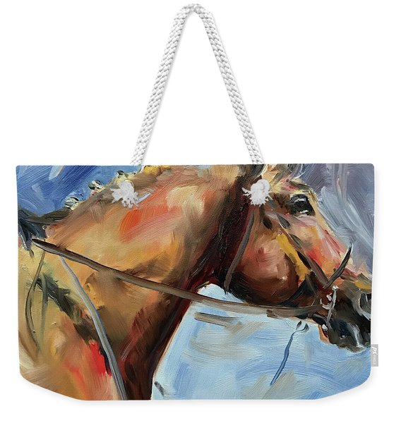 Horse Head Study Weekender Tote Bag