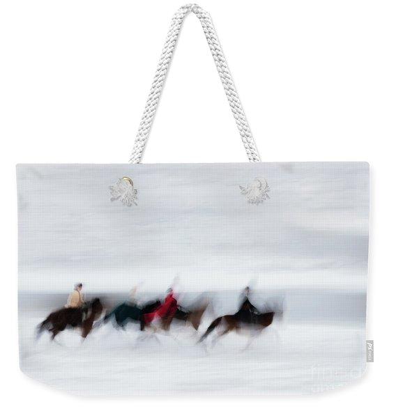 Horse Hunt #8111 Weekender Tote Bag