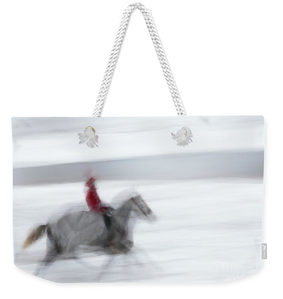 Horse Hunt #8125 Weekender Tote Bag