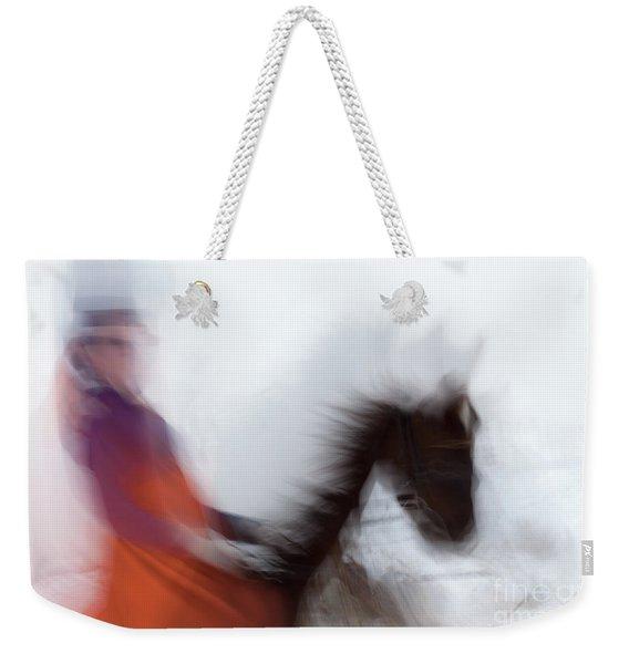 Horse Hunt #8153 Weekender Tote Bag