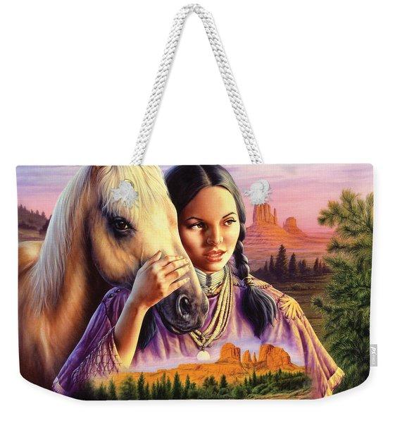 Horse Maiden Weekender Tote Bag