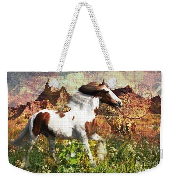 Horse Medicine 2015 Weekender Tote Bag