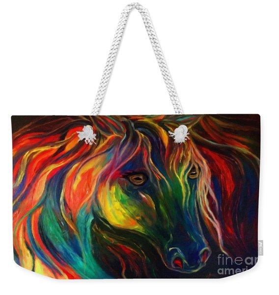Horse Of Hope Weekender Tote Bag