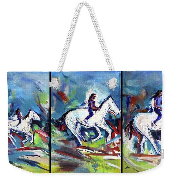 Horse Three II Weekender Tote Bag