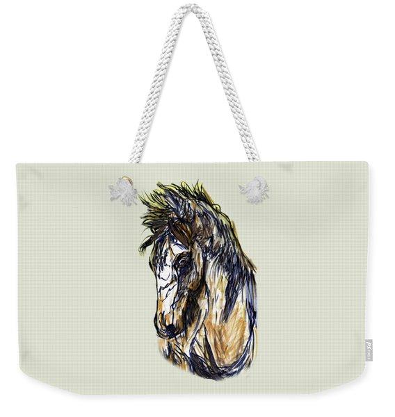 Horse Twins II Weekender Tote Bag