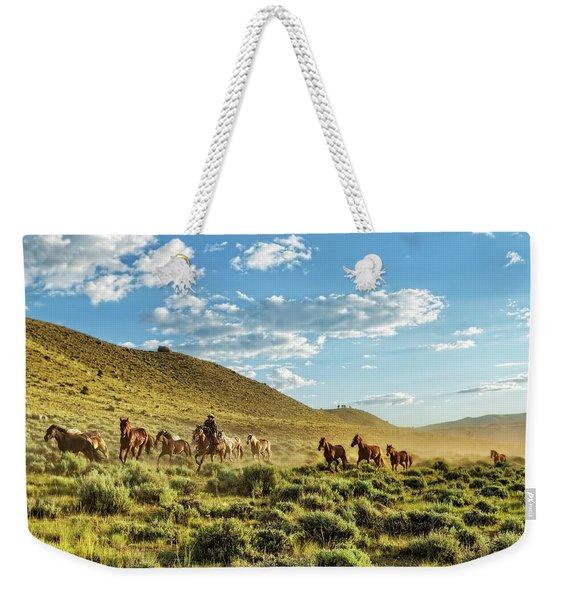 Horses And More Horses Weekender Tote Bag