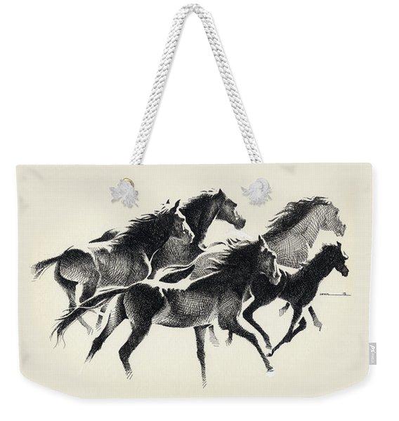 Horses Mug Weekender Tote Bag