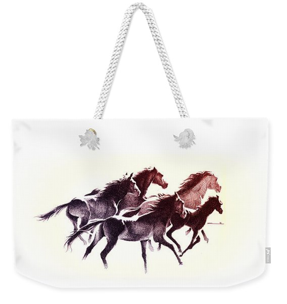 Horses5 Mug Weekender Tote Bag
