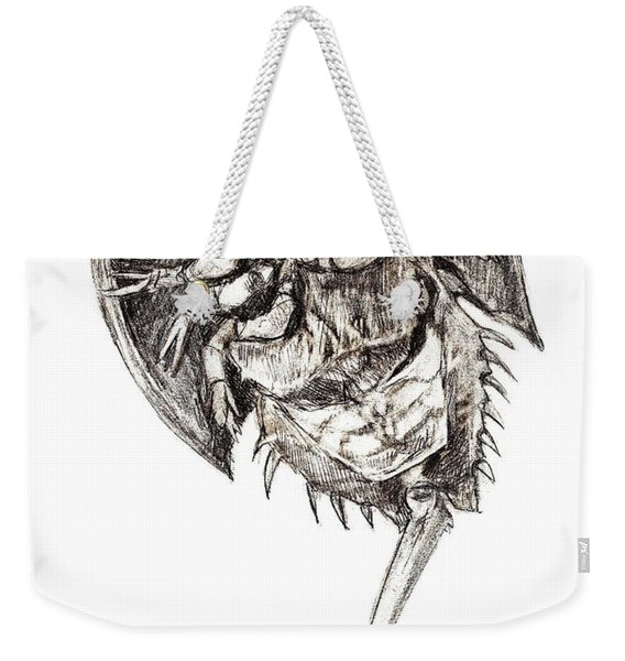 Horseshoe Crab Weekender Tote Bag
