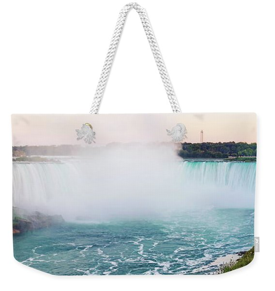 Horseshoe Falls At Dusk Weekender Tote Bag
