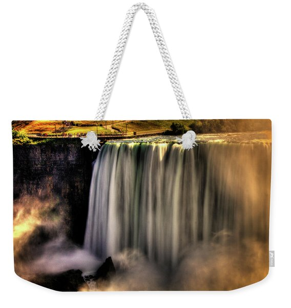 Horseshoe Falls Early Autumn No 03 Weekender Tote Bag