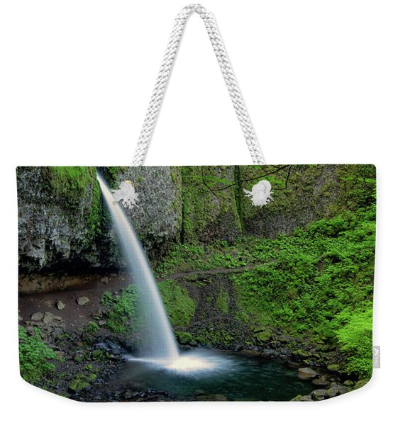 Horsetail Falls Waterfall Art By Kaylyn Franks Weekender Tote Bag