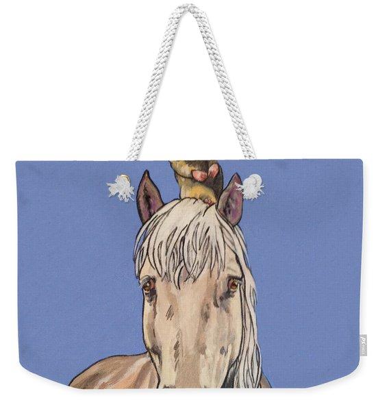Hortense The Horse Weekender Tote Bag