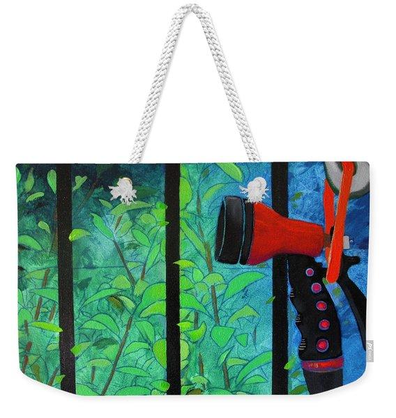 Hosed Weekender Tote Bag