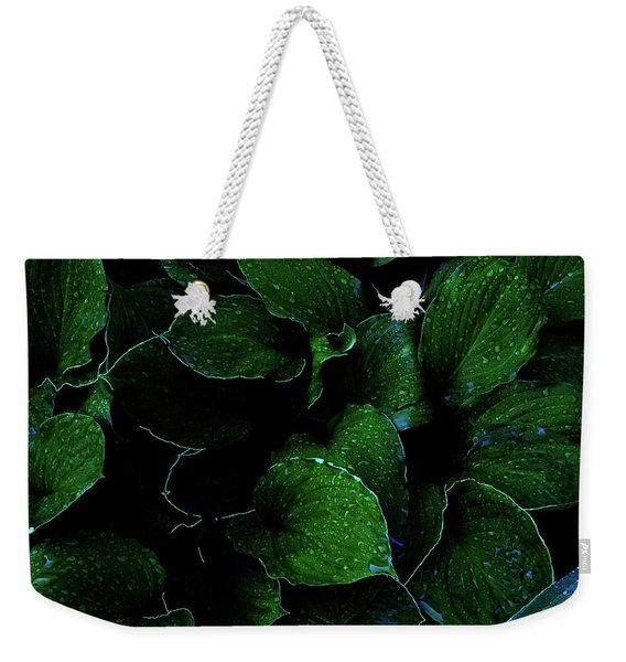 Hostas After The Rain II Weekender Tote Bag