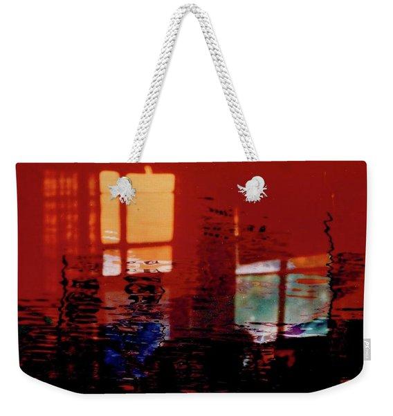 Hot And Cool Weekender Tote Bag