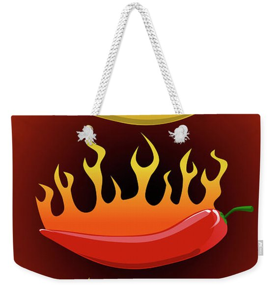 Hot Chilies Weekender Tote Bag