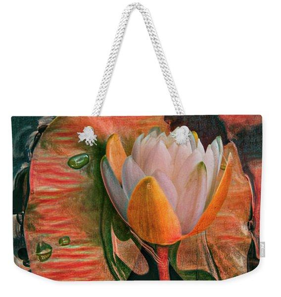 Hot Colors Of The Tropics Weekender Tote Bag
