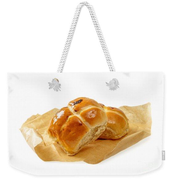 Hot Cross Buns Weekender Tote Bag
