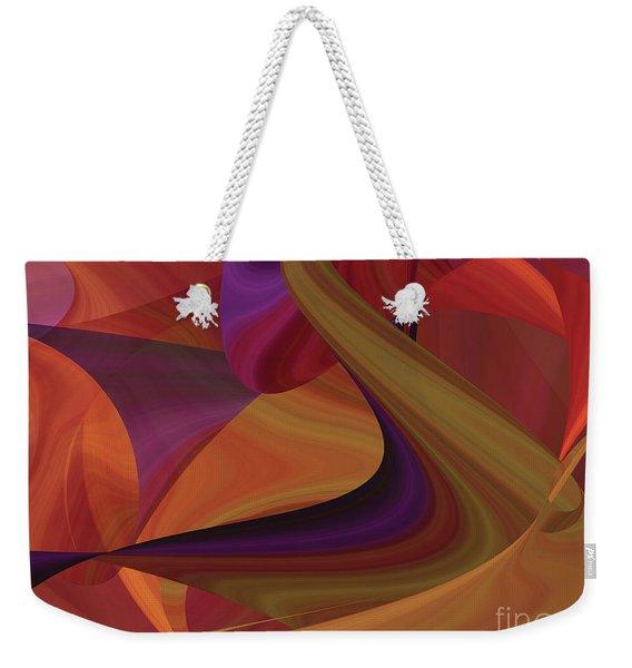 Hot Curvelicious Weekender Tote Bag