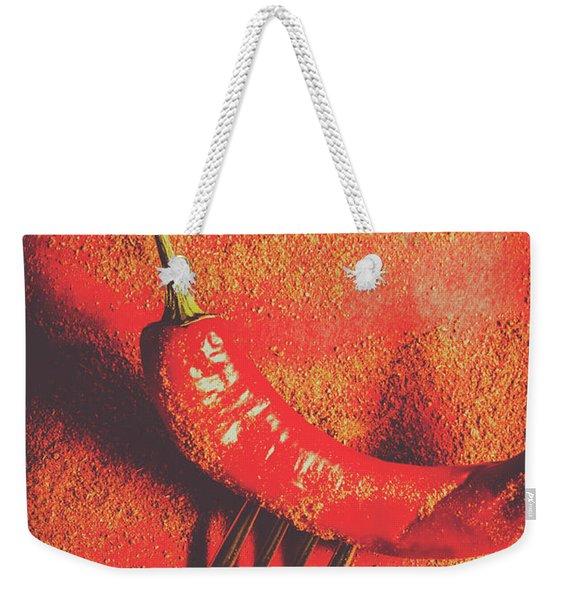 Hot Food Takeaway Weekender Tote Bag