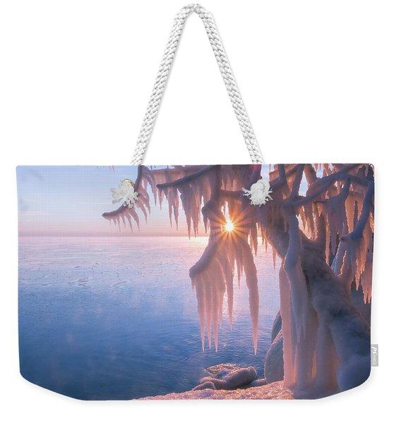 Hot Ice Weekender Tote Bag