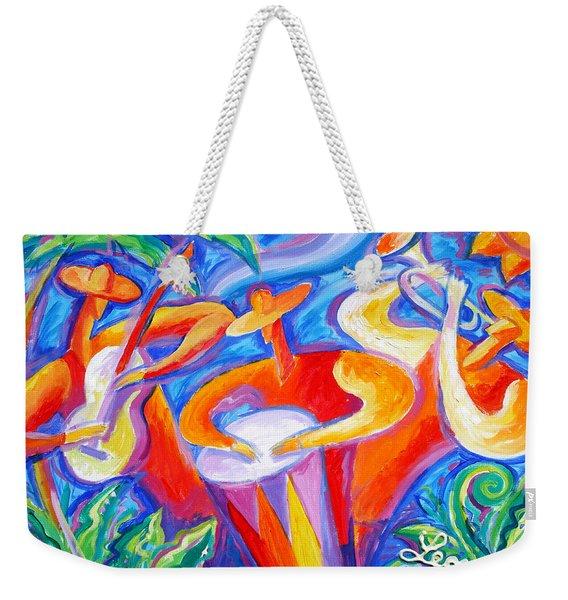 Hot Latin Jazz Weekender Tote Bag
