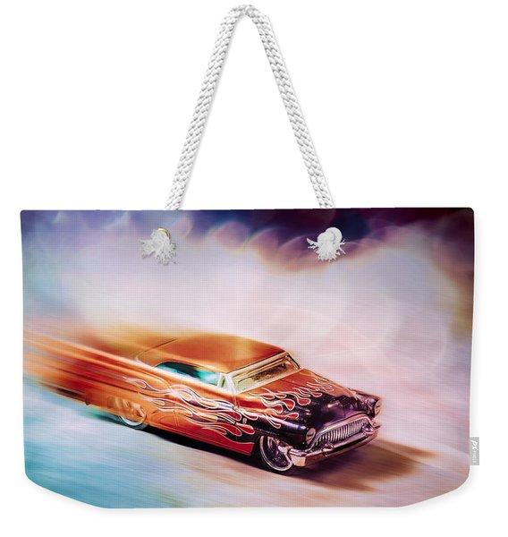 Hot Rod Racer Weekender Tote Bag