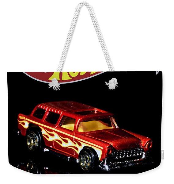 Hot Wheels '55 Chevy Nomad 2 Weekender Tote Bag