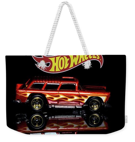 Hot Wheels '55 Chevy Nomad Weekender Tote Bag