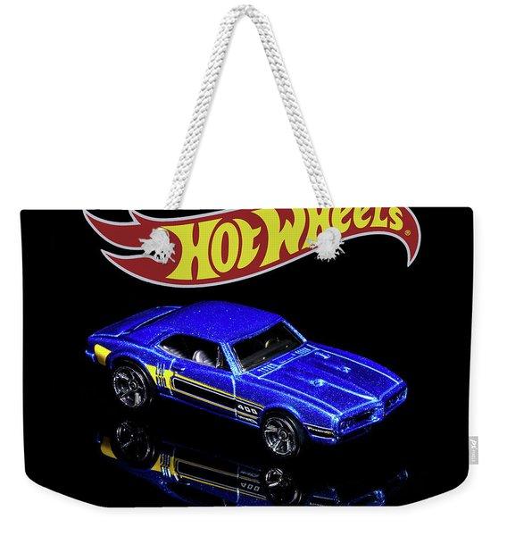 Hot Wheels '67 Pontiac Firebird 400-2 Weekender Tote Bag